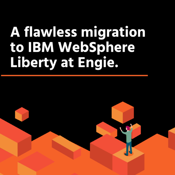 A flawless migration to IBM Websphere  Liberty at Engie.